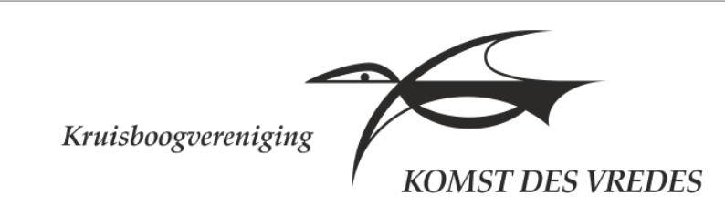 Vrijdag 20 t/m maandag 23 maart: 1e Kring KDV